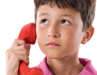 Photo of Boy calling 9-1-1
