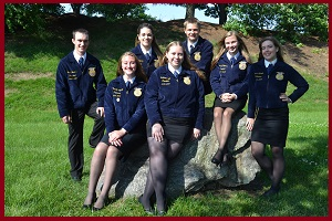 Photo of 2018-2019 state officer team
