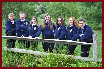 Photo of 2014-2015 State Officer Team
