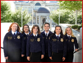 Photo of 2015-2016 State Officer Team