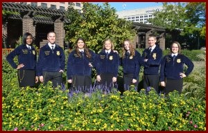 Photo of 2016-17 state officer team