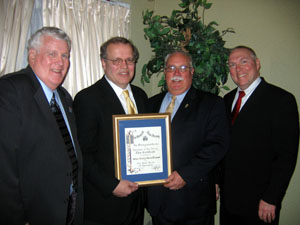 Photo of NJ Farm Bureau receiving award