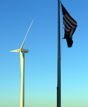 Photo of Wind Turbine in Atlantic City