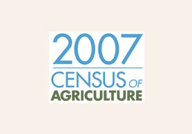 Photo of the 2007 Census of Ag logo - Click to enlarge