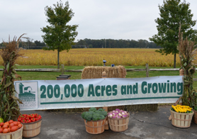 Photo of Cassaday Farms press conference - Click to enlarge