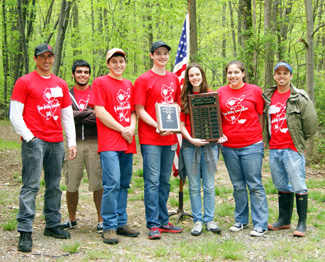 Photo of 2011 Envirothon Winners - MATES