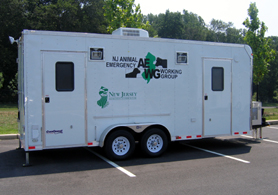 Photo of an Animal Evacuation Trailer - Click to enlarge
