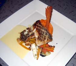 Photo of Pan Seared Black Sea Bass