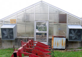 Photo of Cumberland Reg HS Greenhouse - Click to enlarge