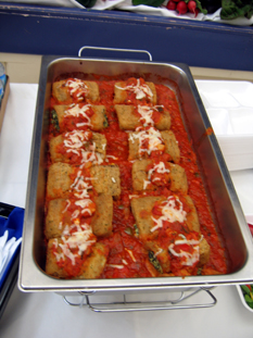 Photo of Eggplant Rollatini Jersey Fresh farm to school dish