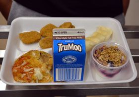 Photo of Made with Jersey Fresh school meal items - Click to enlarge