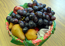 Photo of fruits used in the Fresh Fruit and Vegetable Program - Click to enlarge