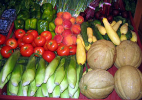Photo of Jersey Fresh fruits and vegetables - Click to enlarge