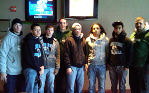 Photo of Harrison High School Group at Jets game