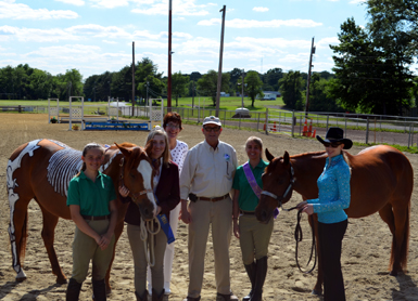 Photo of the group at the 2014 Month of the Horse Kick-off