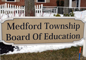 Photo of Medord BOE Sign - Click to enlarge