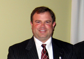 Photo of John Melick, 2011 Outstanding Young Farmer - Click to enlarge