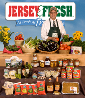 Photo of Made with Jersey Fresh Poster with Secretary Fisher