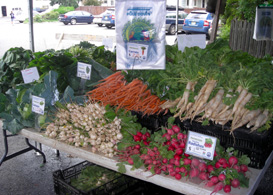 Photo of produce at Maplewood Farmers Market - Click to enlarge