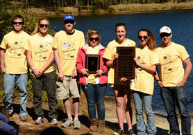 Photo of winning Envirothon Team - Click to enlarge