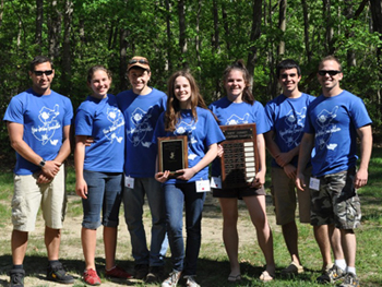 Photo of 2010 winning NJ Envirothon Team