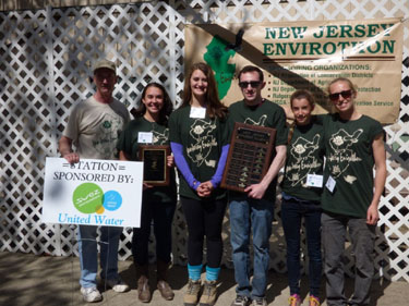 Photo of the 2015 winning Envirothon Team - MATES Team One