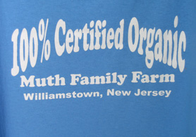 Photo of Muth Family Farm tee shirt - Click to enlarge