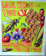 Photo of a conservation poster contest winning poster - Click to enlarge