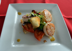 Photo of Scallops BLT - Click to enlarge