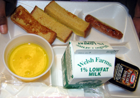 Photo of a School 2 Breakfast Tray - Click to enlarge