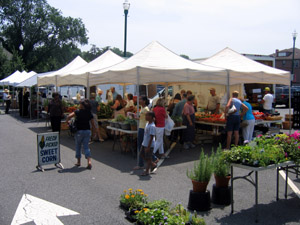 Photo of the Teaneck Farmers Market
