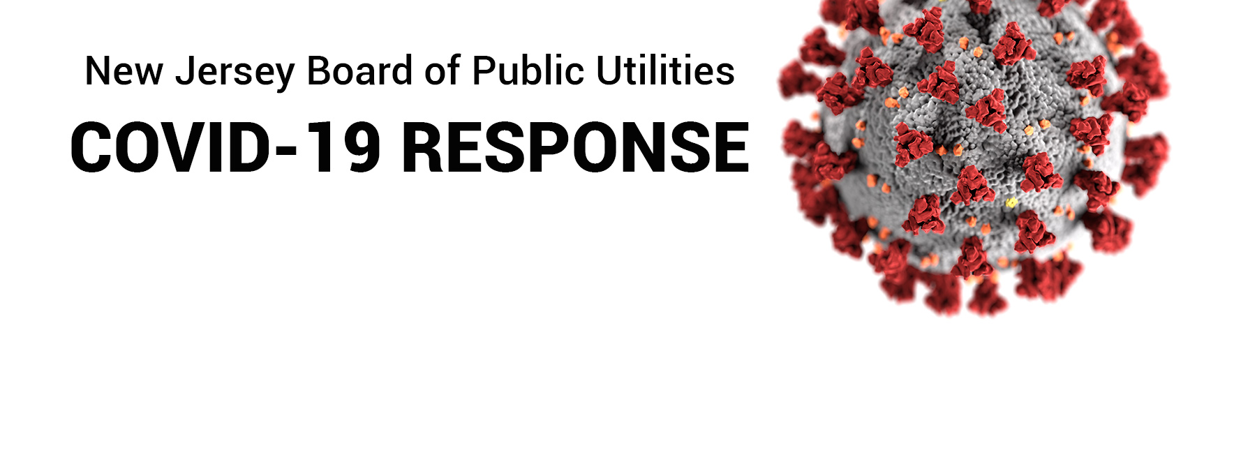 New Jersey Board of Public Utilities COVID-19 RESPONSE