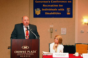 Commissioner Joseph V. Doria, NJ Dept. of Community Affairs; Commission Chair - Karen Bourque-Sco