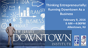 NJ Downtown Istitute tickets