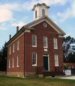 port colden school, washington township, warren county