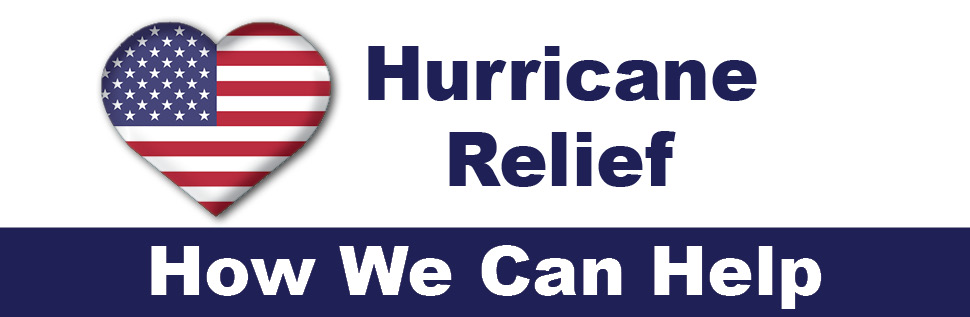 Hurricane Relief: How We Can Help