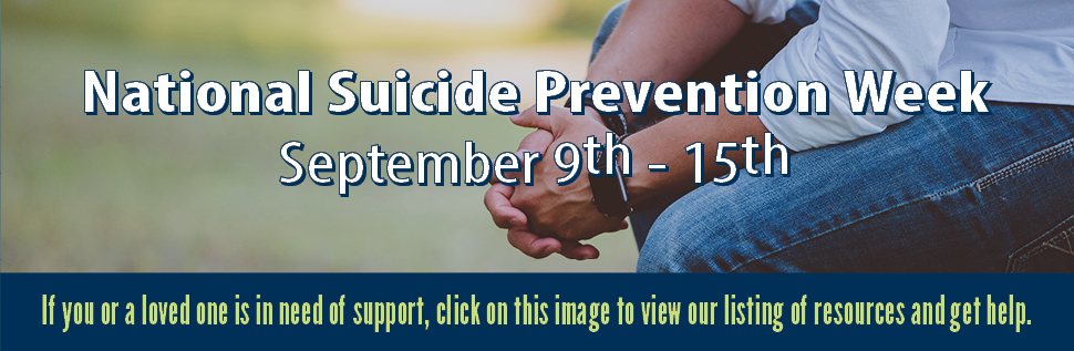 Youth Suicide Prevention Week