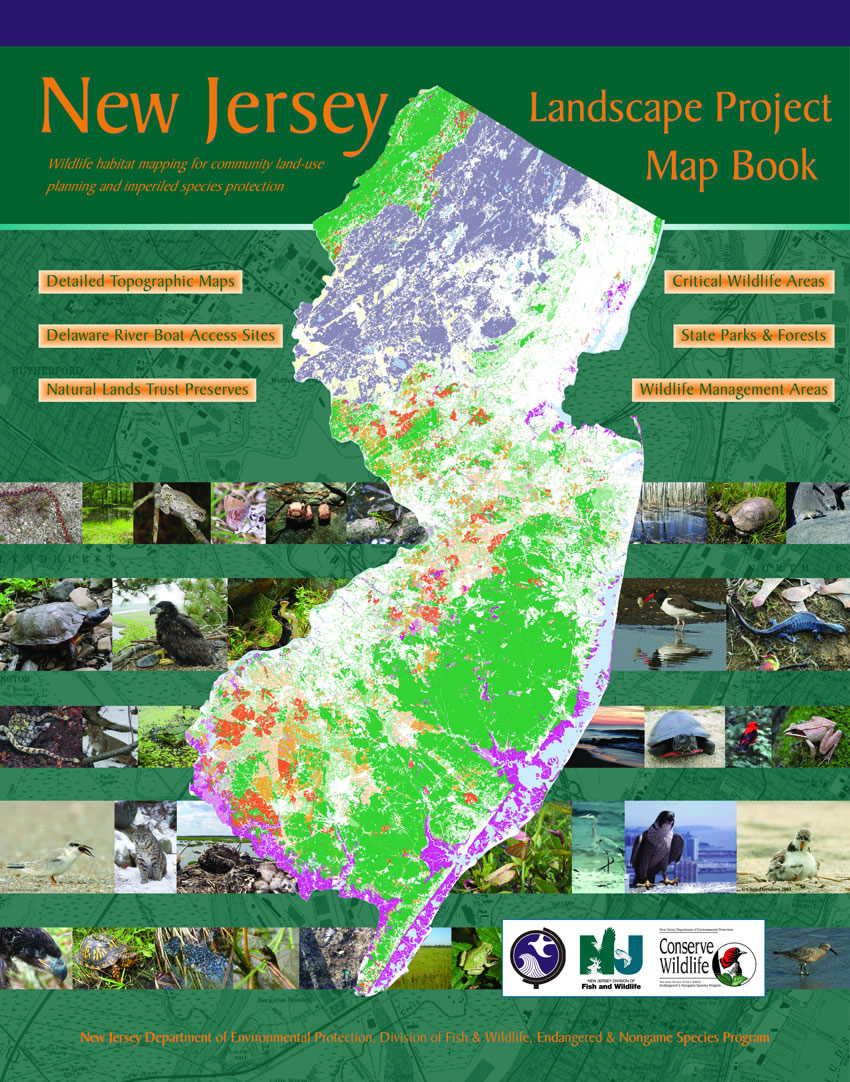 NJDEP Division Of Fish Wildlife New Jersey Landscape Project - Detailed map of nj