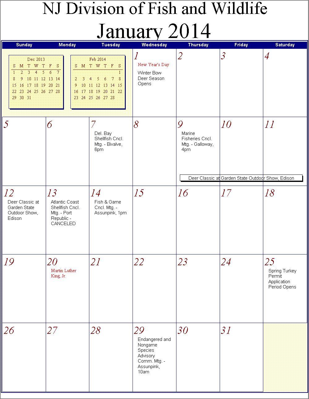 March April May 2014 Calendar 2014
