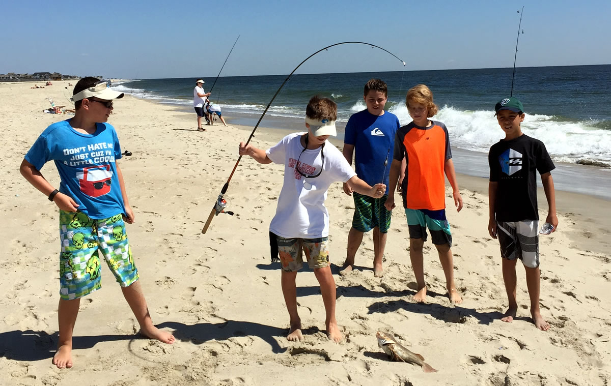 Njdep division of fish wildlife hooked on fishing not for Fishing in nj
