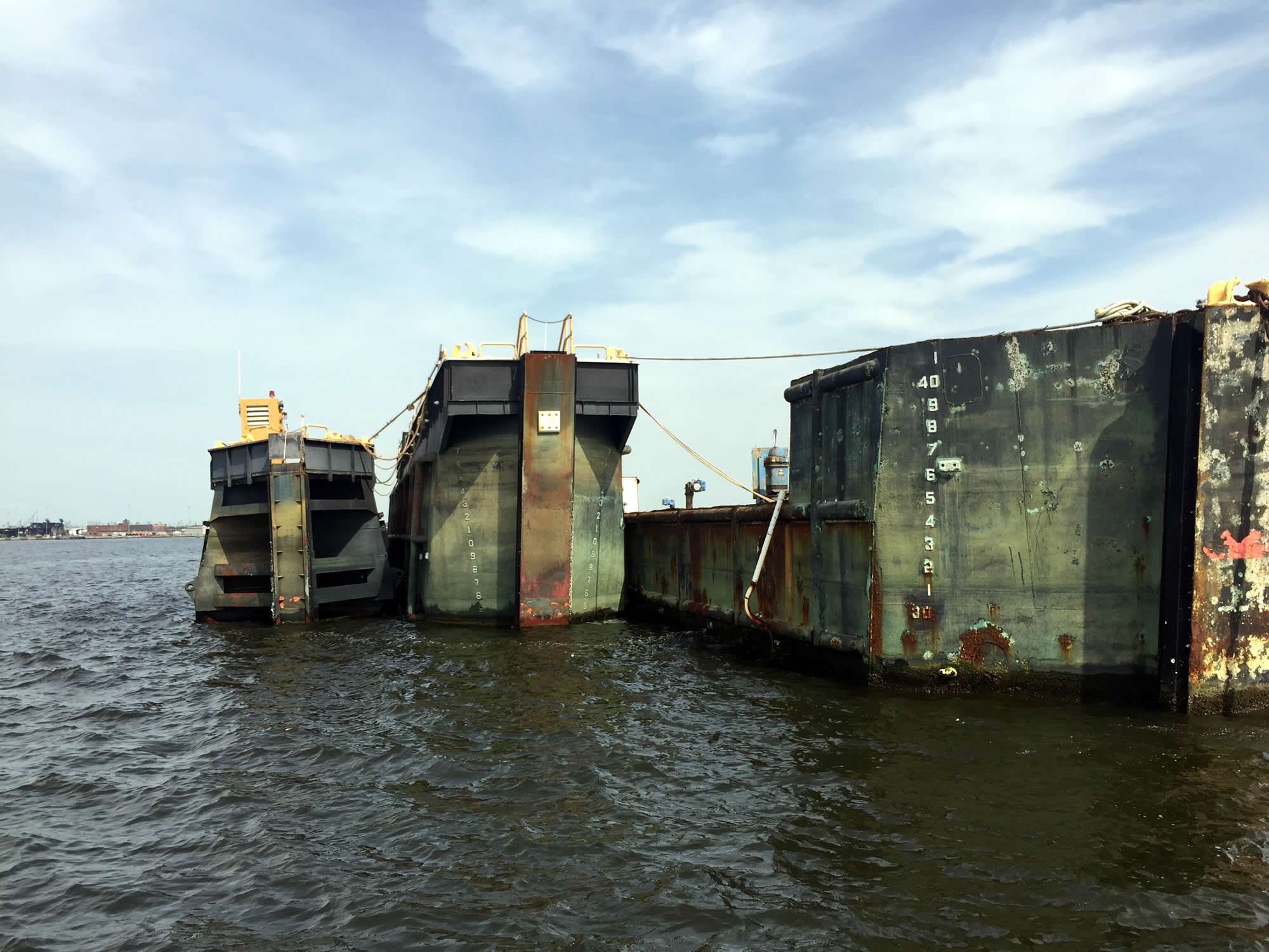 Njdep division of fish wildlife artificial reef for Caisson maritime