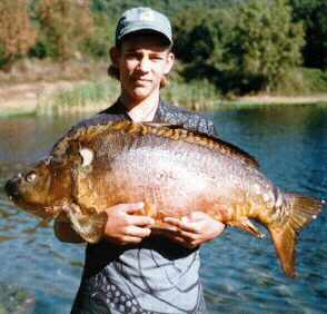 Njdep ision of fish amp wildlife billy friedman s state record carp