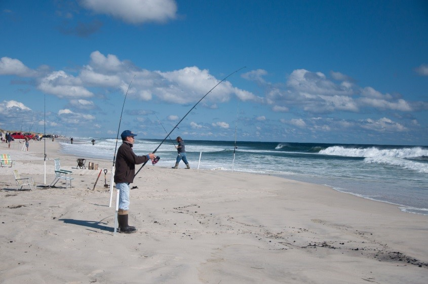 Njdep news release 17 47 26th annual governor s surf for Island beach state park fishing