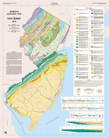 NJDEP New Jersey Geological And Water Survey Bedrock Geologic - Maps of nj