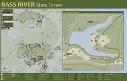Department Of Environmental Protection - Us forest campgrounds map