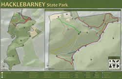 Hacklebarney State Park Map NJDEP New Jersey Department of Environmental Protection