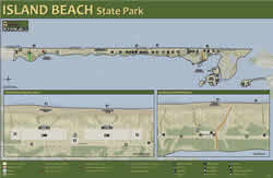 Department of environmental protection island beach area map fandeluxe Images