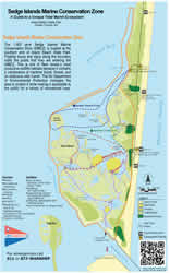 Department of environmental protection sedge islands marine conservation zone water trail brochure fandeluxe Images