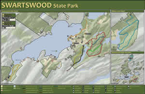 Department Of Environmental Protection - Us state parks map