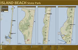 Island Beach State Park Map NJDEP New Jersey Department of Environmental Protection